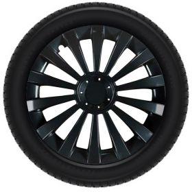 Wieldeksels set - 15 inch – Meridan zwart