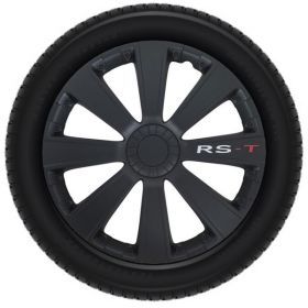Wieldeksels set - 15 inch - RS-T Zwart